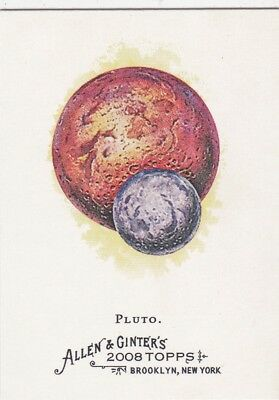 2008 Topps Allen & Ginter Pluto Discovered N 1930 By Clyde Tombaugh Trading Card