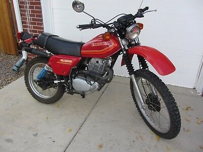1980 Honda Other  1980 Honda XL500, Collector Quality, 4836 mi, 1 Owner, Street Legal, No Reserve