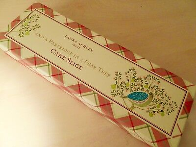 Bnib Laura Ashley 'partridge In A Pear Tree' Cake Slice- Matching Items Listed