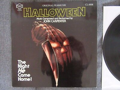 Halloween - Original Soundtrack - John Carpenter - Top Zustand