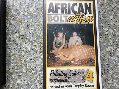 African Hunting  Bolt Action Vol 4  VHS