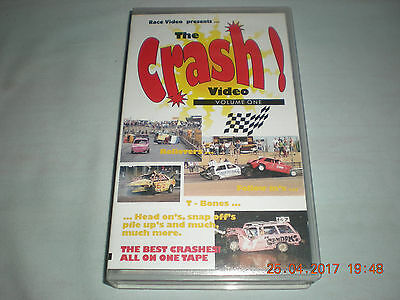 Banger Racing Video The Crash Volume One by Race Video Arena Essex R/t 55 mins
