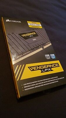 Brand new!! Corsair Vengeance LPX 8GB (2x4GB) DDR4 2400MHz C14 Memory Kit ram pc