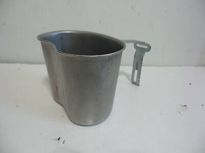 Army Usmc Military Issue Canteen Cup Metal Field Gear Usgi