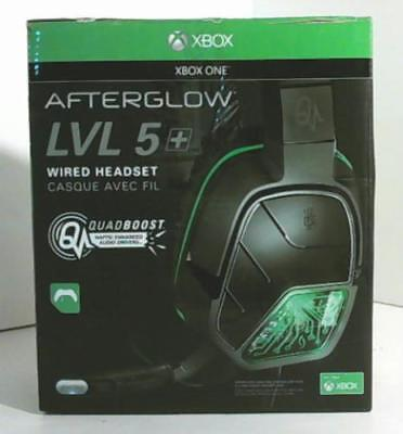 NEW OPEN BOX PDP 048-042X Afterglow LVL 5+ Wired Headset for Xbox One $70