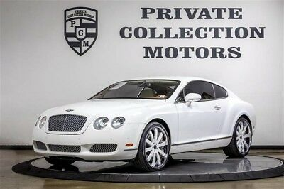 2007 Bentley Continental GT GT Coupe 2-Door 2007 Bentley GT Clean Carfax Immaculate Low Miles Well Kept