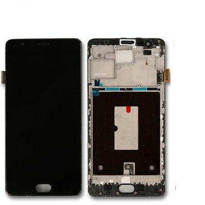 Full Display LCD TOUCH SCREEN PANEL FOR ONE PLUS 3T  A3003 Black Original