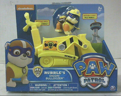 NEW Nickelodeon Paw Patrol Rubble's Digging Bulldozer 20070567