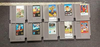 Lot of 10 Nintendo Games