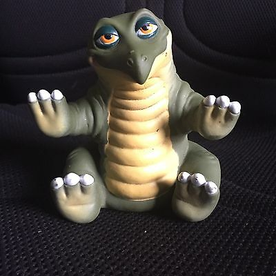Vintage 1988 Pizza Hut The Land Before Time Rubber Hand Puppet Dinosaur Spike