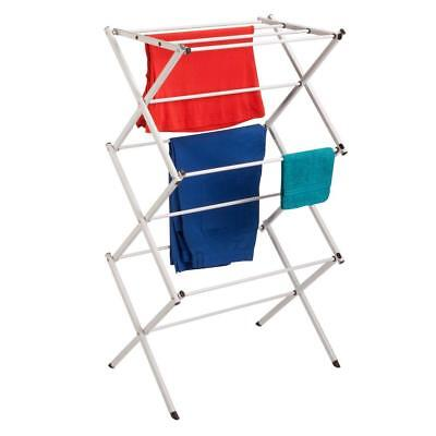 Compact Steel Clothes Drying Rack. Indoor/Outdoor. Collapsible Foldaway Storage
