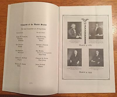 1920s Directory Natl Govt Calvin Coolidge & 1939 150th Anniversary 1st Congress