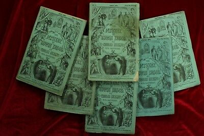 Charles Dickens THE MYSTERY OF EDWIN DROOD 1870 1ST EDITION ORIGINAL PARTS NoRes