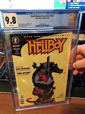 CGC 9.8 Dark Horse Presents # 151 - Hellboy - Mignola - White Pages