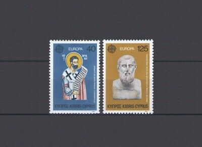 Cyprus (Gr), Europa Cept 1980, Famous People, Mnh