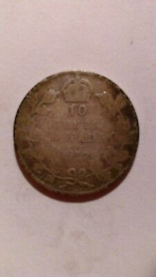 1912  Canada 10 Cents