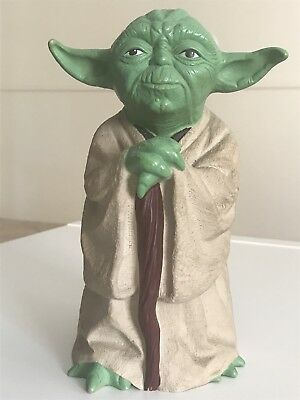 RARE Vintage Star Wars YODA Rubber Hand Puppet Toy 1981 Genuine Product