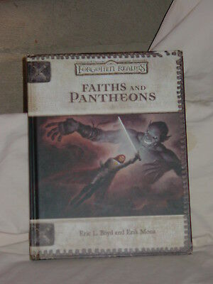 Dungeons & Dragons Forgotten Realms Faiths and Pantheons HC 3rd 3.5 Edition