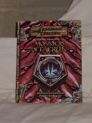 Dungeons & Dragons Forgotten Realms Monsters of Faerun SC 3rd 3.5 Edition