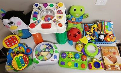 Bulk Children Toys - VTech, Fisher Price & Leap Frog