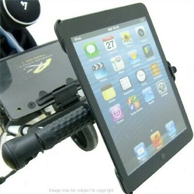 Dedicated Locking Strap Golf Trolley / Cart Tablet Mount Holder for iPad Mini