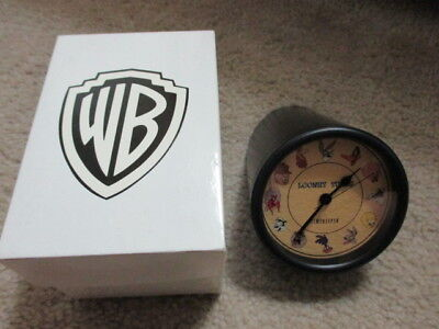 1992 WB Looney Tunes Characters Timekeeper Desk/Counter Clock *RARE*