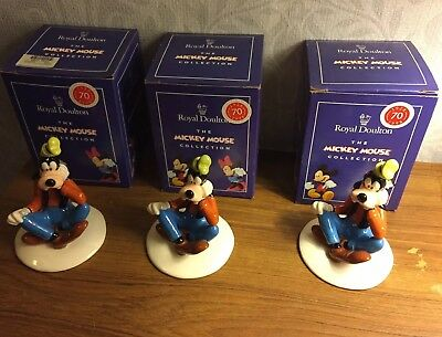 Royal Doulton The Mickey Mouse Collection Goofy Figure