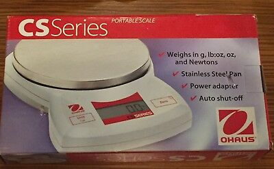 Ohaus CS-2000-001 Portable Digital Scale 2000 g x 1 g New In Box FREE SHIPPING!