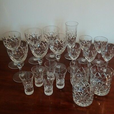 Royal Brierley Glass Collection