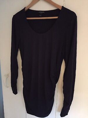 Isabella Oliver Size 3 Maternity Long Sleeved Top