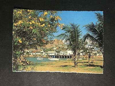 Vintage Postcard CASTLE HILL Ross Creek TOWNSVILLE NORTH QLD Murray Views