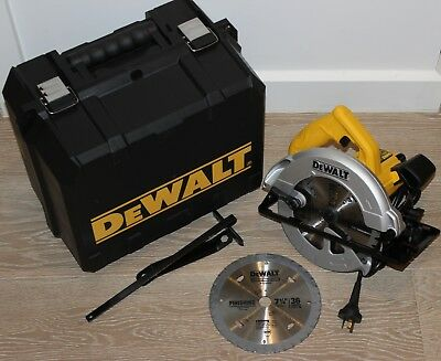 Dewalt 1350watt circular saw corded - two new blades - brand new