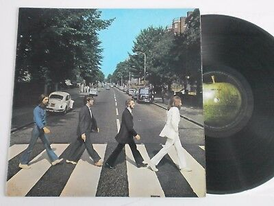 The Beatles - Abbey Road. 1969 1st Press Apple LP Misaligned (PCS 7088) Ex!