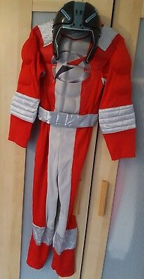 Childs Power Rangers Dress Up Costume. Age 7- 8