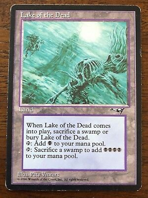 Lake of the Dead MTG Alliances Card ~ LP/Played