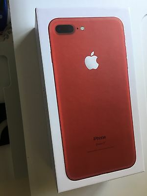 iPhone 7 Plus Red 128g Box Only