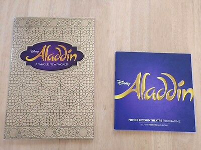 Disney's Aladdin - London West End theatre programmes (large and small) - mint