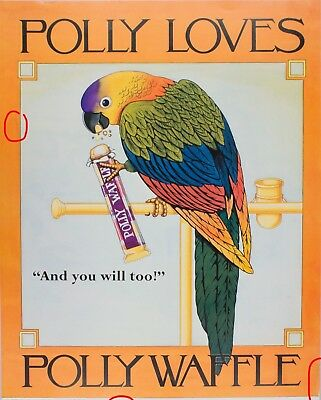 Polly Waffle Bar Large Promotional Poster 43x34 cm