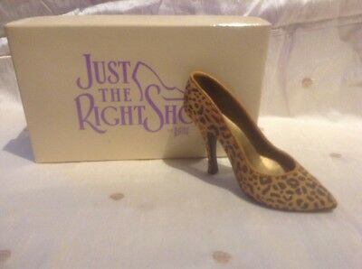 just the right shoe Leopard Stiletto
