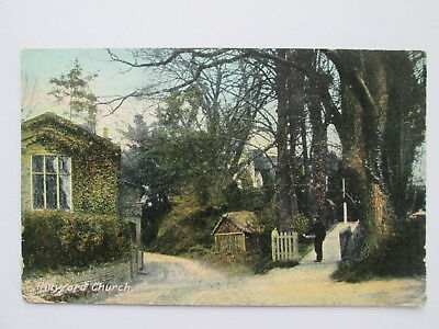 Vintage Postcard - Playford Church , Near Ipswich , Suffolk .