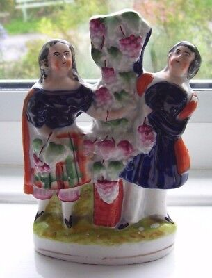 Staffordshire Figure Good Detail And Colouring