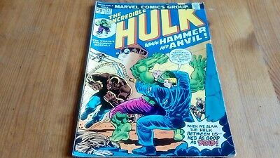 The Incredible Hulk #182 Original Marvel Comic 1974 2nd Full Wolverine *RARE*