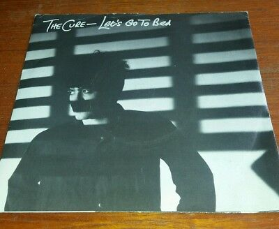 The Cure 7inch vinyl..Lets Go To Bed
