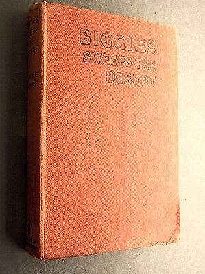 Biggles Sweeps the Desert by Captain W E Johns 1951