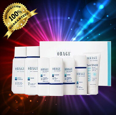 Obagi Nu Derm FX regimen  (normal to Dry) FULL SIZE GIFT KIT!!EXP 2/2020  7 PCS