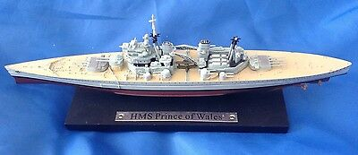 Famous Atlas Editions Brittish Battleship - H M S Prince Of Wales