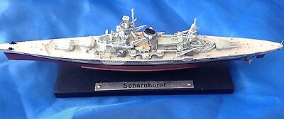 Famous Atlas Editions Ww2 German Battleship - Scharnhorst
