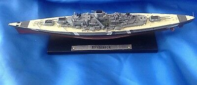 Famous Atlas Editions Ww2 German Battleship - Bismark