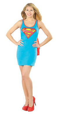 Rubie'S Supergirl Dc Comics Justice League Adult Dress With Cape Costume