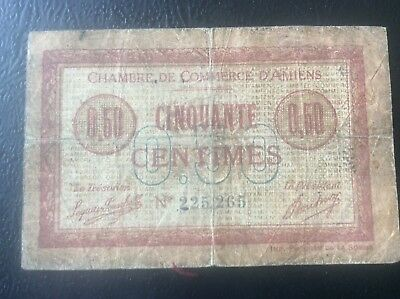 50 french franc banknote 50 cinquante francs banque de for Chambre de commerce amiens